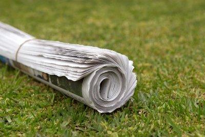 Zeitungsausträger - ein typischer Nebenjob für Jugendliche.