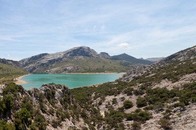 Sie können auf Mallorca im September auch wandern.