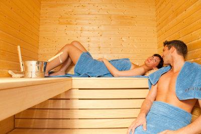 Ein Date in der Sauna ist für Sauna-Fans nichts Außergewöhnliches.
