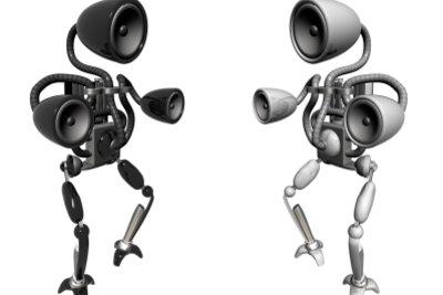 Kabellose Lautsprecher sind praktisch.