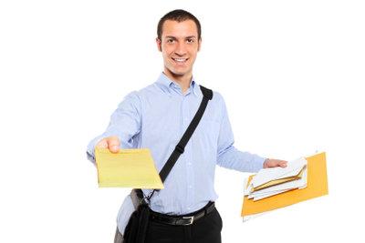 Fragen Sie bei der Post nach Ferienjobs.