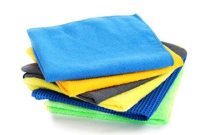 Produkte aus Mikrofasern sind vielseitig einsetzbar.