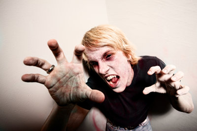 Bei manchen Zombie-Filmen ist Gänsehaut garantiert.