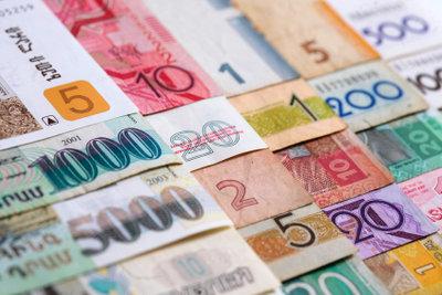 Ein Auslandsüberweisungsformular ermöglicht Geldübermittlungen ins Ausland.