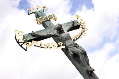 Am Karfreitag gedenken Christen der Kreuzigung Jesu Christi.