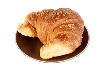 Französische Croissants schmecken am besten.