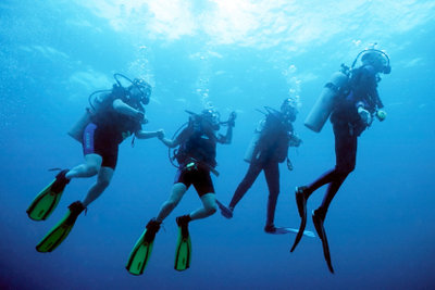 Schwimmflossen - nicht nur etwas für Berufstaucher!