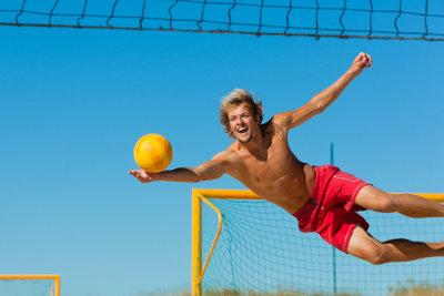 Krafttraining ist für Volleyballer wichtig.