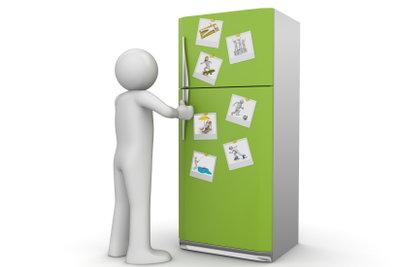 Den Kühlschrank können Sie selbst reparieren.