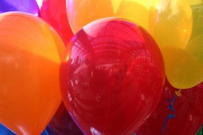 Ein originelles Geschenk mit der Ballonidee.