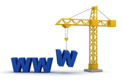 Erstellen Sie Ihre eigene Homepage.