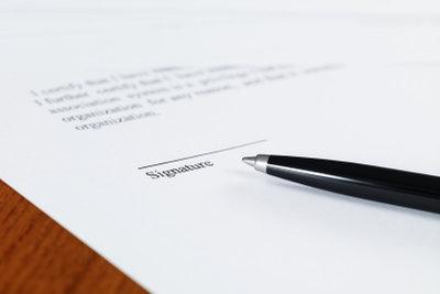 Digital unterschriebene Bewerbungen zeugen von Professionalität.