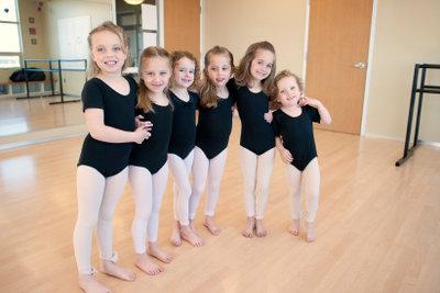 Die Ballett-Voraussetzungen sind hoch.
