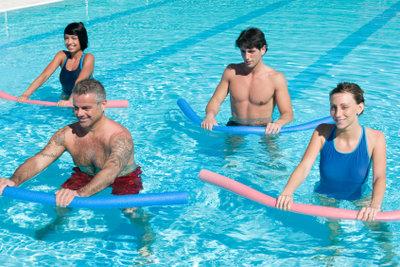 Trainieren Sie gezielt Ihre Schwimmgeschwindigkeiten.