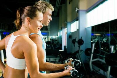 Eine schöne Muskulatur steht auch Frauen.