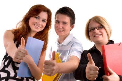 Schülersprecher sollten bei Mitschülern beliebt sein.