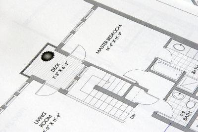 Zeichnen Sie einen Bungalow-Bauplan!