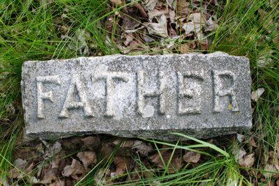 Verhindern Sie das Absinken der Grabplatten.