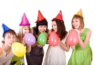 Gestalten Sie eine tolle Party.
