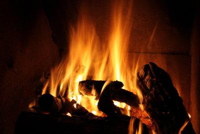 Der Kaminofen als gemütliche Wärmequelle.