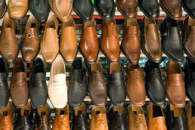 Schuhgeschäfte werden immer gebraucht.