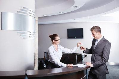 Hotelkosten können von der Steuer abgesetzt werden.
