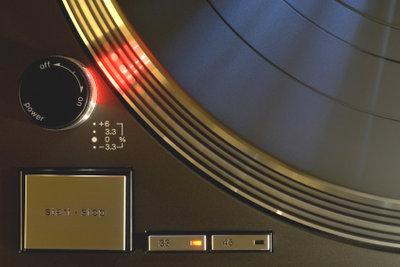 Ein individuelles Geschenk: Goldene Schallplatte.