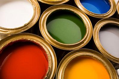 Magnetfarbe kann mit Wandfarbe überstrichen werden.