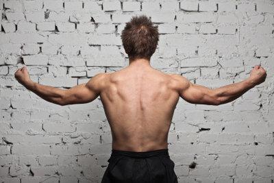 Richtiges Training sorgt für einen V-Körper.