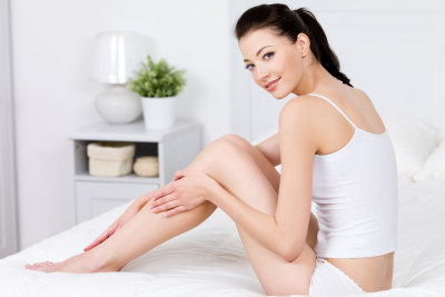 Schmerzende Beine wollen gepflegt werden.
