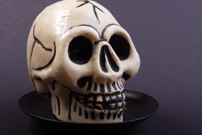 Halloween ist die Zeit des Grusels.