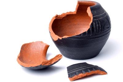 Schützen Sie Ihre Vase vor Brüchen.