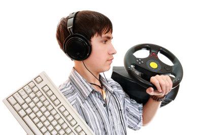 PlayStation 3 bedienen mit Tastatur.
