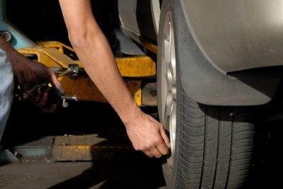 Auswuchten der Reifen kann ins Geld gehen.