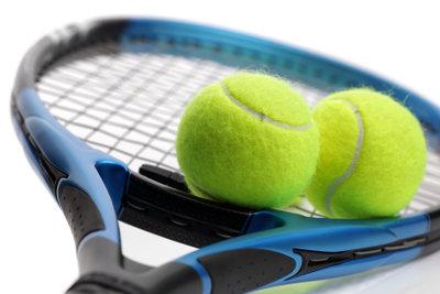 Dämpfer können Vibrationen beim Tennisschläger verringern.