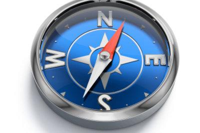 Kaufen Sie einen zuverlässigen Kompass.