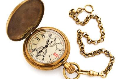 Seltene Taschenuhren haben einen hohen Wert.