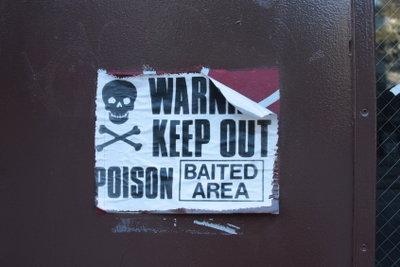 Rattengift wirkt in den meisten Fällen tödlich!