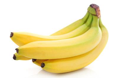 Mit Bananen können Sie abnehmen.