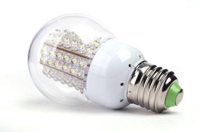LEDs sind noch sparsamer als Energiesparlampen.