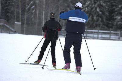 Benutzen Sie eine Skilanglauf-Technik.