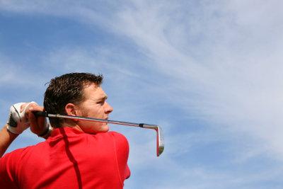 Golfschläger mit Stiff-Schaft.