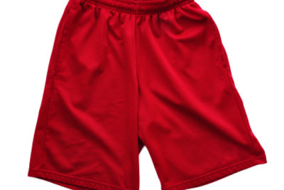 Auch Polyester-Shorts können Sie färben.