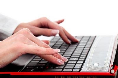 Auf einer Tastatur sind viele Bakterien!