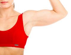 Muskelzerrung Oberarm