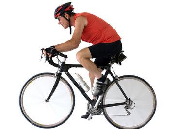 Trainieren Sie regelmäßig für den Radmarathon.