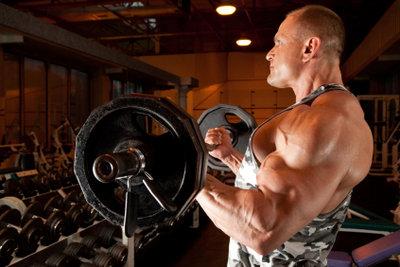 Der 5er-Split hilft beim Muskelaufbau.