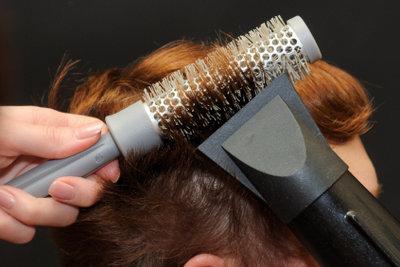Haarwirbel haben ihren eigenen Kopf.