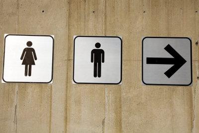 Urin-Geruch in Toiletten nicht erwünscht.