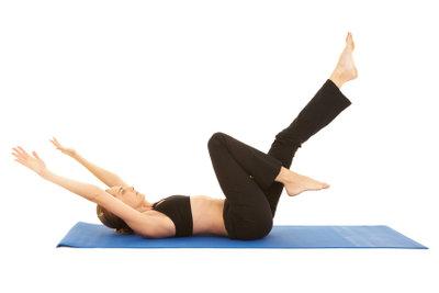 Das Powerhouse trainieren mit Pilates.